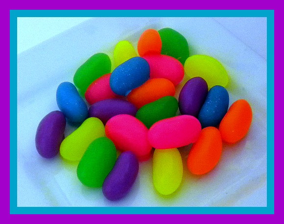 Soap - Jelly Beans - Candy Soap - Set Of 24 - Neon Colors on Luulla